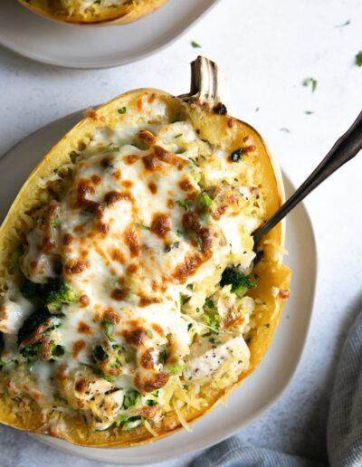 Cheesy-Chicken-and-Broccoli-Spaghetti-Squash-4